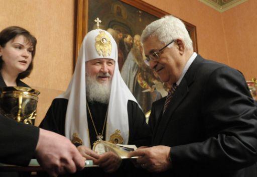 محمود عباس من بين الحائزين على جائزة الصندوق الدولي لوحدة الشعوب الارثوذكسية