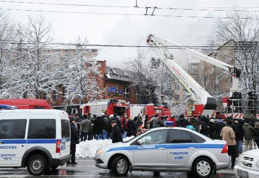 مقتل شخصين واصابة 32 شخصا بجروح جراء انفجار وقع في مطعم بجنوب غرب موسكو