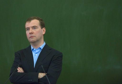 مدفيديف: لا ارى ما ينذر بتطور الاحداث في روسيا وفق