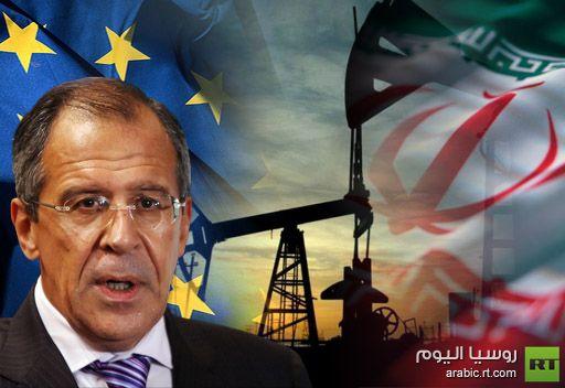 لافروف: روسيا تسعى الى استئناف مفاوضات ايران مع المجتمع الدولي