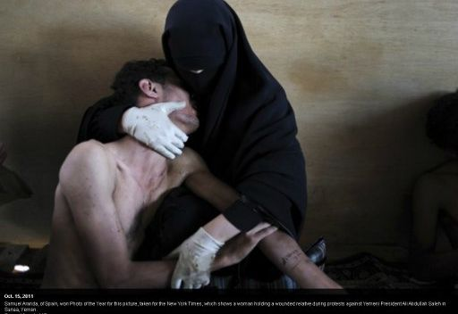 صورة التقطها مصور اسباني في اليمن تفوز في جائزة
