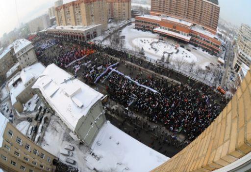 بوتين: لم اتوقع  إقامة تظاهرة الموالاة الحاشدة بمثل هذا العدد من المشاركين بموسكو