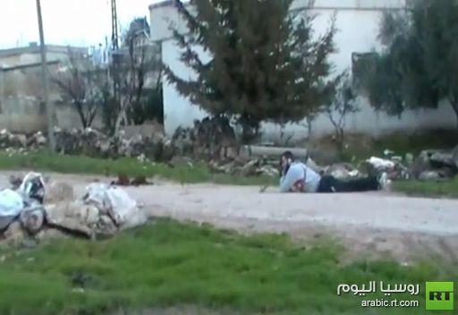 فيديو: أسلحة ثقيلة بأيدي الجماعات المسلحة في سورية