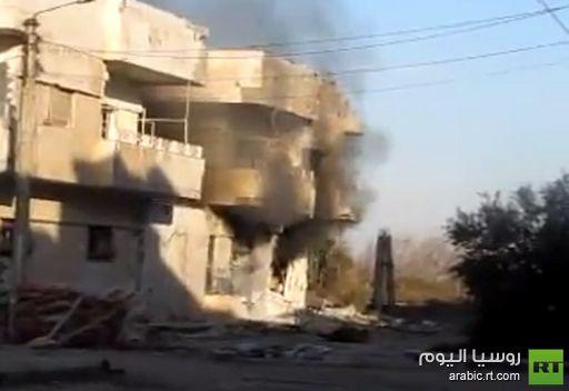 فيديو: دمار وقصف في حي بابا عمرو