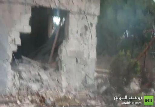 فيديو: جولة في حي بابا عمرو بعد القصف