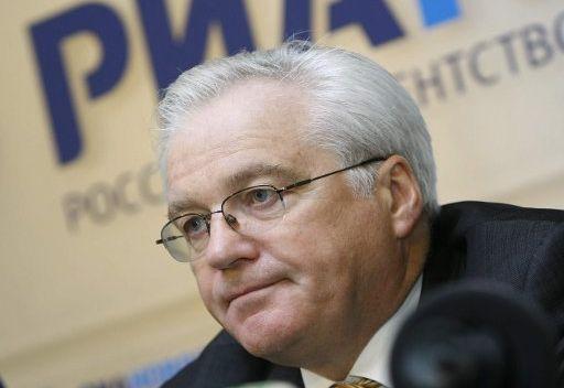 المندوب الروسي في الامم المتحدة يشدد على ضرورة الحل السلمي للنزاع السوري