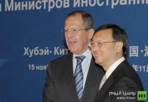 وزيرا الخارجية الروسي والصيني يؤكدان تطابق مواقف الدولتين من الملف السوري
