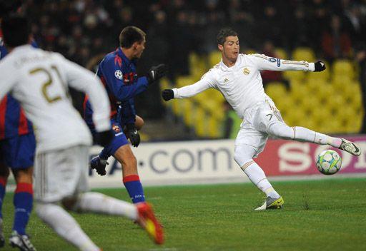 ريال مدريد يضيع فرصة الفوز على تسيسكا موسكو في الوقت القاتل