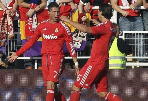 ريال مدريد يفوز على رايو فاليكانو بهدف رونالدو
