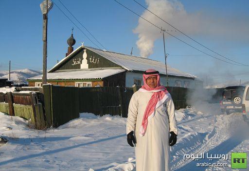 رحالة عربي يتوجه الى اقصى شمال روسيا