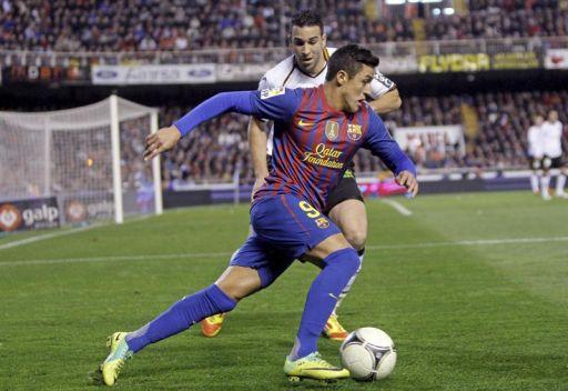 برشلونة يتعادل مع فالنسيا في المستايا