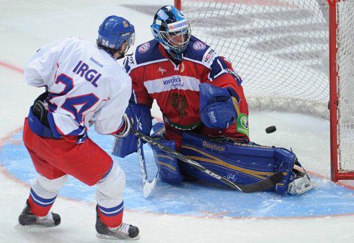 روسيا تخسر أمام التشيك بهوكي الجليد