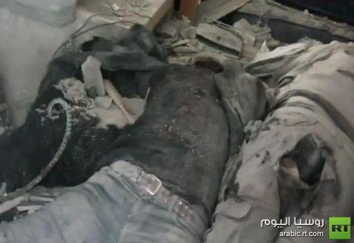 مقطع فيديو يصور مقتل الصحفيين الاجنبيين في حي بابا عمرو