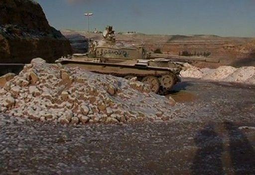 تساقط الثلوج في ليبيا