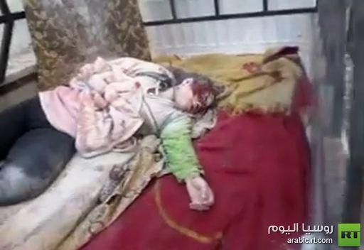 ضحايا في حي بابا عمرو