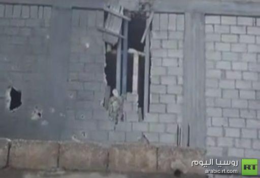 فيديو: آثار القصف على بلدة الزبداني