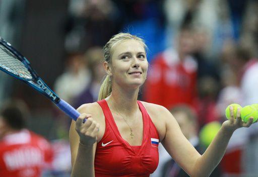 الروسية ماريا شارابوفا ترتقي الى المركز الثاني في التصنيف العالمي للاعبات التنس