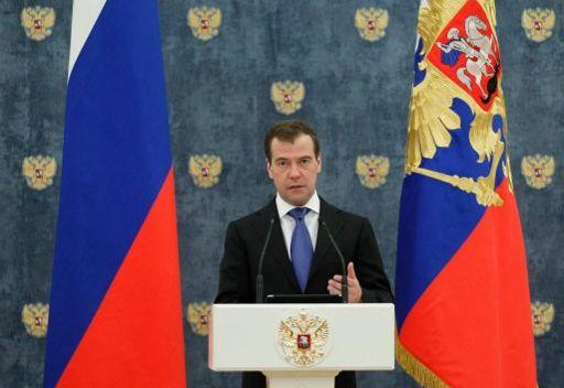 مدفيديف ينتظر من الدبلوماسيين الروس مبادرات جديدة لمعالجة مهام الدولة الهامة استراتيجيا