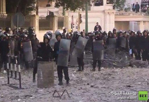 تجدد الاشتباكات بعد صلاة الجمعة بالقاهرة