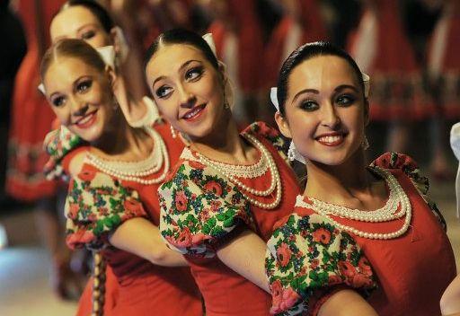 فرقة مويسييف الروسية الحكومية للرقص تحتفل بعيد ميلادها ال 75