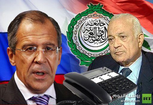 لافروف: روسيا مستعدة للبحث عن حل للازمة السورية على ساحة الامم المتحدة