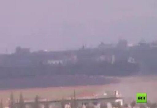اقتحام الطيبة والجيزة بالدبابات في سورية