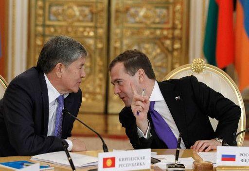 مدفيديف يشدد على ضرورة استقرار الأوضاع في آسيا الوسطى