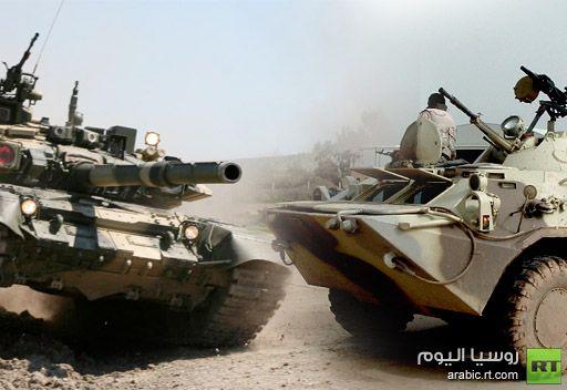 تسليح الجيش الروسي باعداد كبيرة من احدث العربات المدرعة والدبابات يبدأ في 2015