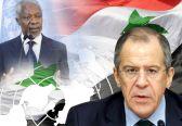 لافروف: موسكو تأمل  في دعم جميع اعضاء مجلس الامن لجهود كوفي عنان