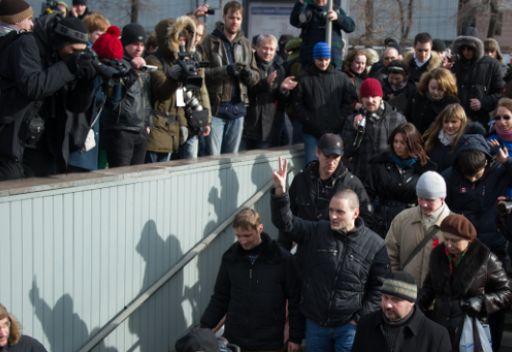 مظاهرة غير مرخصة للمعارضة بوسط موسكو.. واختتامها دون وقوع حوادث او اعتقالات