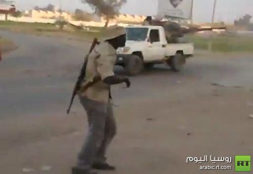 مشاهد من إشتباكات في مدينة سبها الليبية