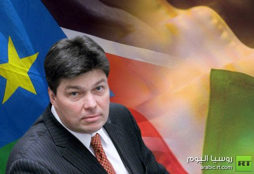 مارغيلوف يأمل بإبرام الاتفاقية بين السودان وجنوب السودان