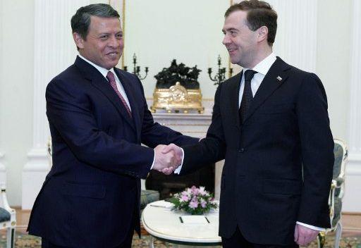 الوضع في الشرق الاوسط سيكون على طاولة مباحثات الرئيس الروسي وملك الاردن في سيؤول
