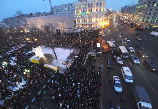 صحفيون روس يدعون الى مظاهرة مناوئة للمظاهرات