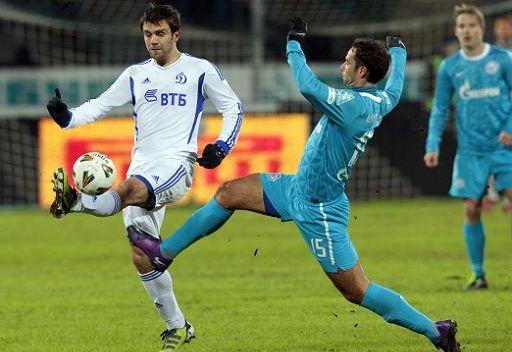 دينامو يقصي زينيت من كأس روسيا ويثأر لهزيمته في الدوري