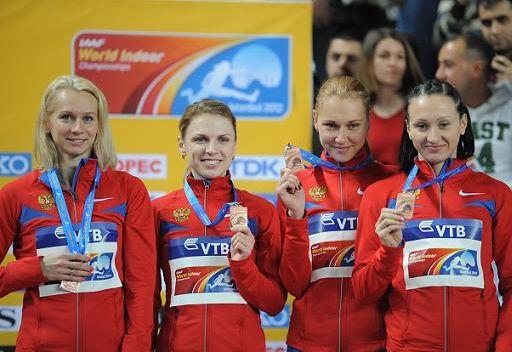 روسيا خامسة في بطولة العالم لألعاب القوى