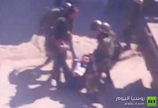 فيديو: إعتقالات في منطقة إنخل السورية