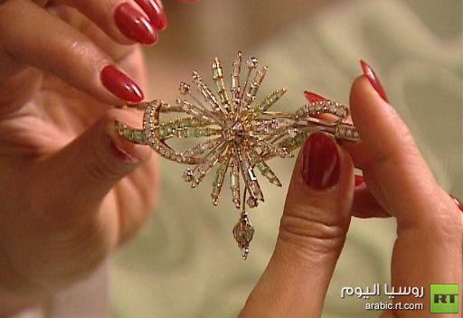 صناعة المجوهرات في روسيا.. بين الإبداع الشخصي والانتاج المتسلسل