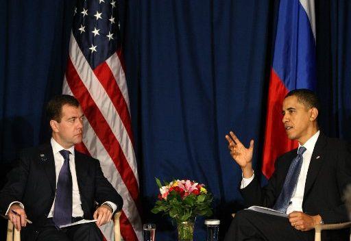 الوضع في سورية والدرع الصاروخية في اجندة مباحثات مدفيديف واوباما بسيؤول