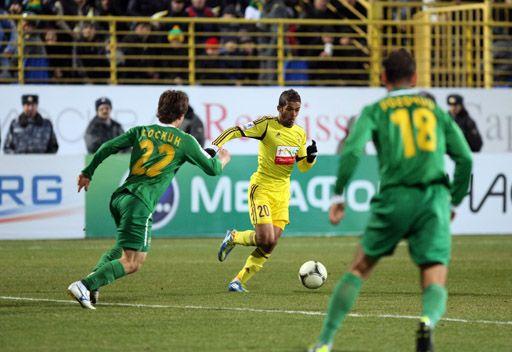 أنجي يقفز الى المركز السادس في الدوري الروسي