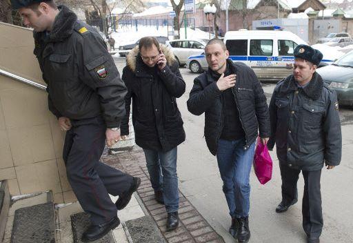 الغاء قرار التوقيف الاداري بحق المعارض اليساري الروسي اودالتسوف