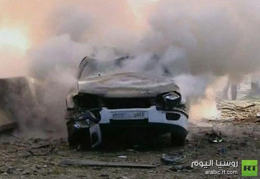 قتيلان على الأقل وحوالي 30 من المصابين في تفجير سيارة بحلب