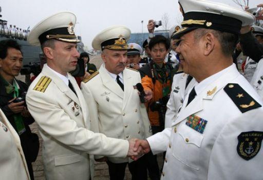 مناورات مشتركة للبحرية الروسية والصينية في أواخر أبريل/نيسان