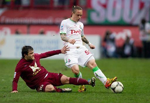 لوكوموتيف موسكو يتعادل على أرضه أمام روبين