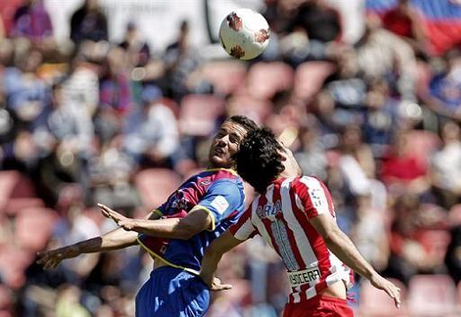 ليفانتي يهزم اتلتيكو مدريد بثنائية