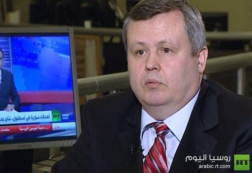خبير سياسي روسي: القيادة السورية تواجه الإرهاب الدولي على أراضيها