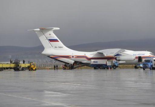 طائرة روسية الى ليبيا محملة بـ15 طنا من الأدوية والمعدات الطبية