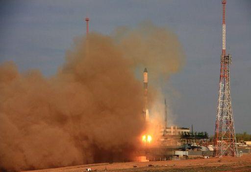 إطلاق شاحنة فضائية روسية نحو المحطة الدولية في المدار الأرضي