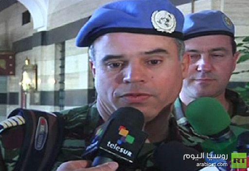 حميش: المهمة في سورية صعبة والعملية السياسية منعدمة