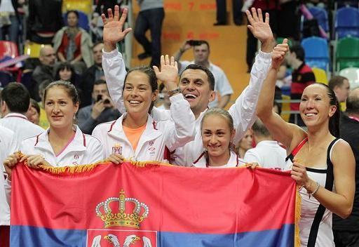 صربيا تطيح بروسيا من مسابقة كأس الاتحاد للتنس